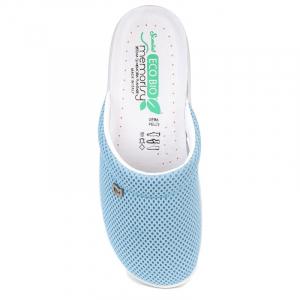 Papuci confortabili EcoBio 201149 Albastru1