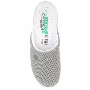 Papuci confortabili EcoBio 201149 Gri1