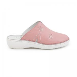 Papuci medicinali de piele Medline, Roz0