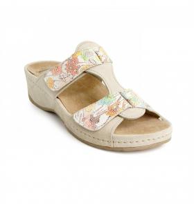 Papuci piele naturala Imola0