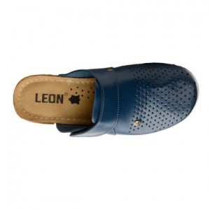 Saboti medicali dama - Leon 1001 Albastru4