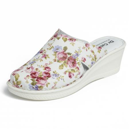 Saboti piele naturala 5013 floral [3]