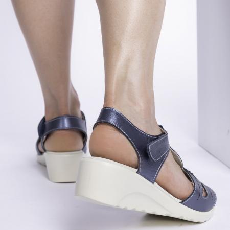 Sandale confortabile B815474 Navy [1]