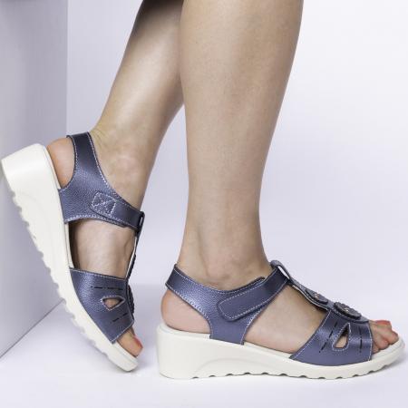 Sandale confortabile B815474 Navy [0]