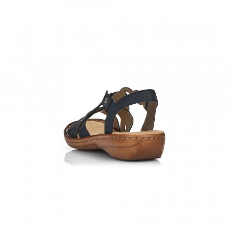 Sandale din piele naturala Rieker 60865-14 [4]