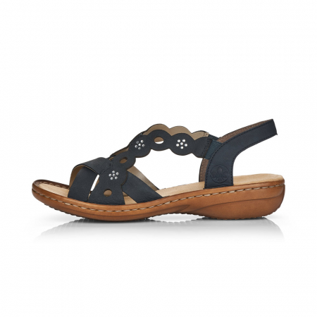 Sandale din piele naturala Rieker 60865-14 [6]
