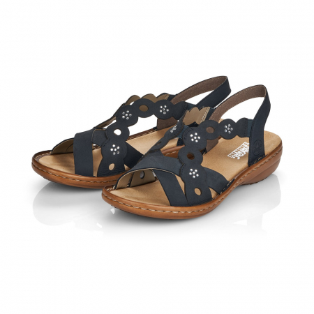 Sandale din piele naturala Rieker 60865-14 [2]