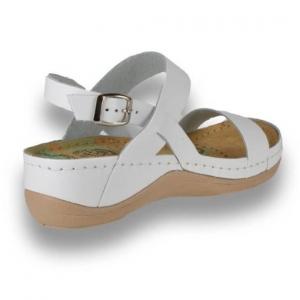 Sandale confortabile Leon 920 Alb3