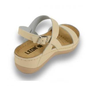 Sandale confortabile Leon 920 Bej3