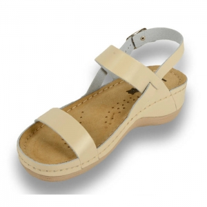 Sandale confortabile Leon 920 Bej1