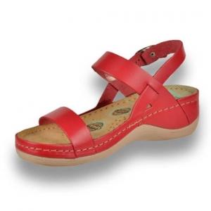 Sandale confortabile Leon 920 Rosu1