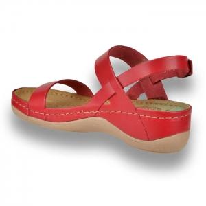 Sandale confortabile Leon 920 Rosu2