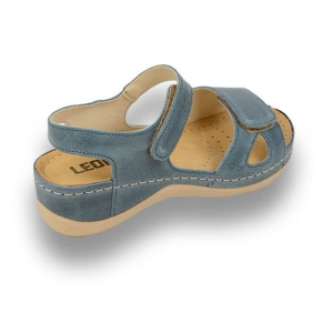Sandale confortabile Leon 935 Albastru [2]