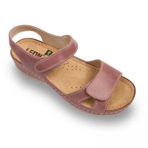 Sandale confortabile Leon 935 Rose0