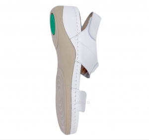 Sandale confortabile Leon 945 Alb2