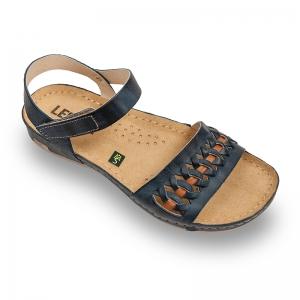 Sandale confortabile Leon 964 Albastru0