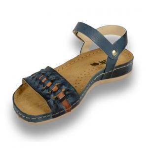 Sandale confortabile Leon 964 Albastru1