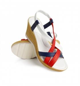 Sandale confortabile Miami EX1N2 Rosu2