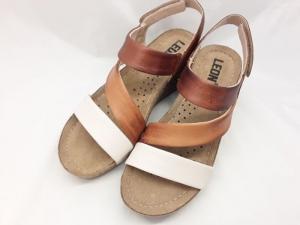 Sandale cu talpa ortopedica 1020 Maro1
