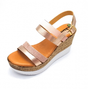 Sandale cu talpa ortopedica 1301 Rose2