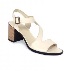 Sandale din piele naturala 250 Bej0