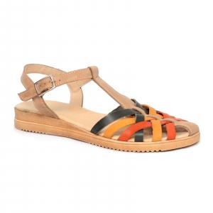 Sandale din piele naturala 258 Color Vara0