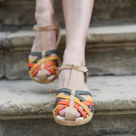 Sandale din piele naturala 258 Color Vara [0]