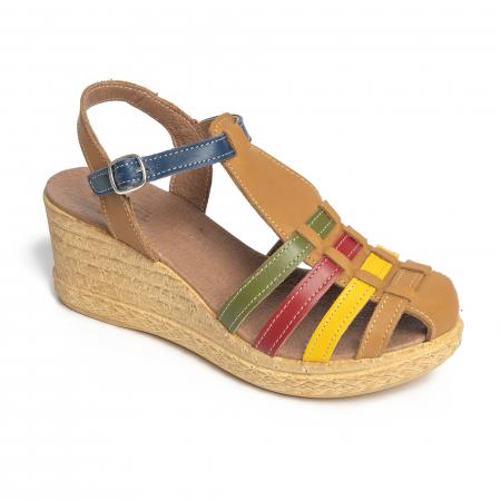 Sandale din piele naturala 262 Color Vara [1]