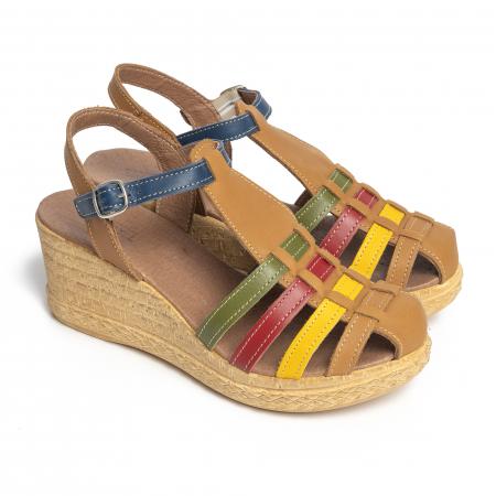 Sandale din piele naturala 262 Color Vara [2]