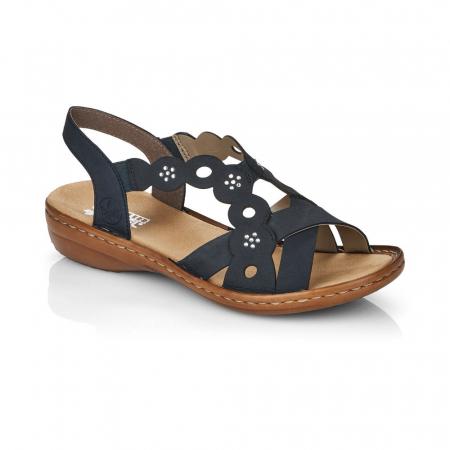 Sandale din piele naturala Rieker 60865-14 [0]