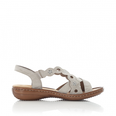Sandale din piele naturala Rieker 60865-60 [3]