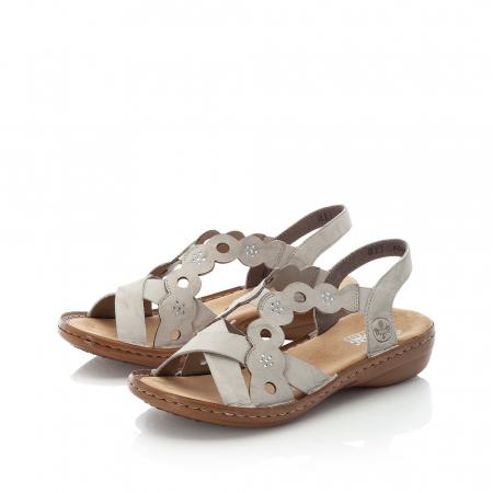 Sandale din piele naturala Rieker 60865-60 [2]