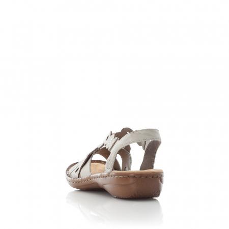 Sandale din piele naturala Rieker 60865-60 [4]