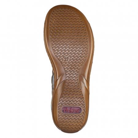 Sandale din piele naturala Rieker 60865-60 [6]