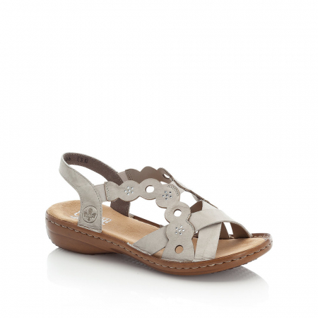 Sandale din piele naturala Rieker 60865-60 [0]