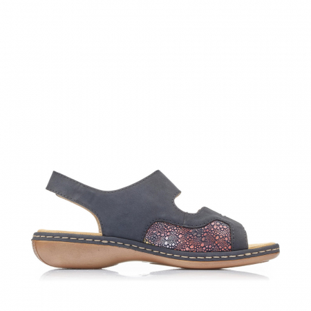 Sandale din piele naturala Rieker 65989-14 [2]