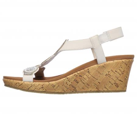 Sandale Skechers BEVERLEE - DATE GLAM 119010-OFF WHITE2