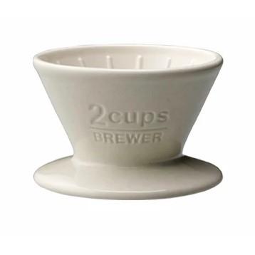 Dripper Kinto 2 cupe - Alb [0]