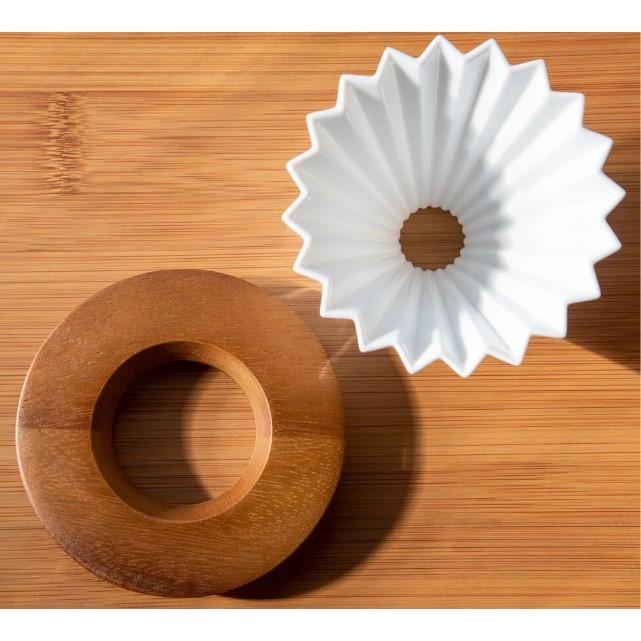 Suport lemn de salcam pentru dripper Origami [1]
