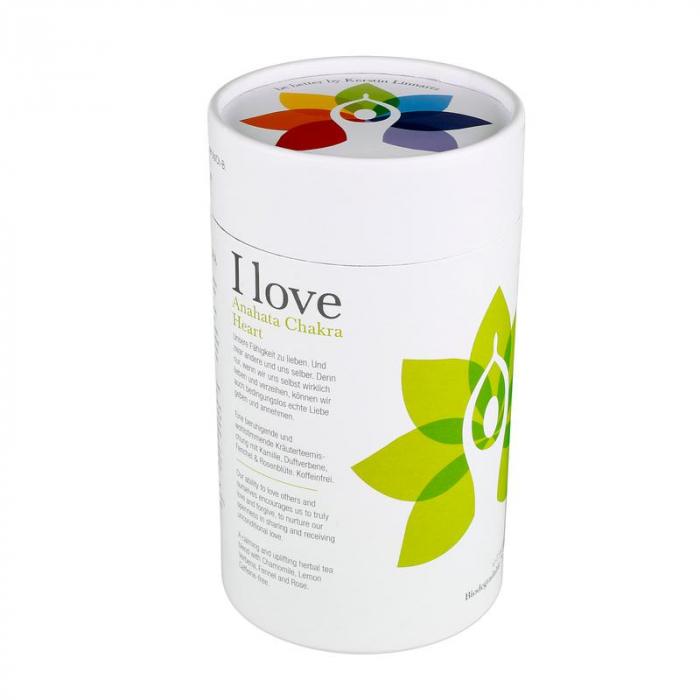 Ceai Organic I Love - Hearth Chakra 0