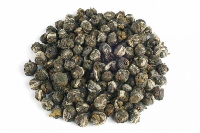 """Ceai Organic Iasomie """"Perlele Dragonului"""" Frunze Cilindru 50gr 1"""