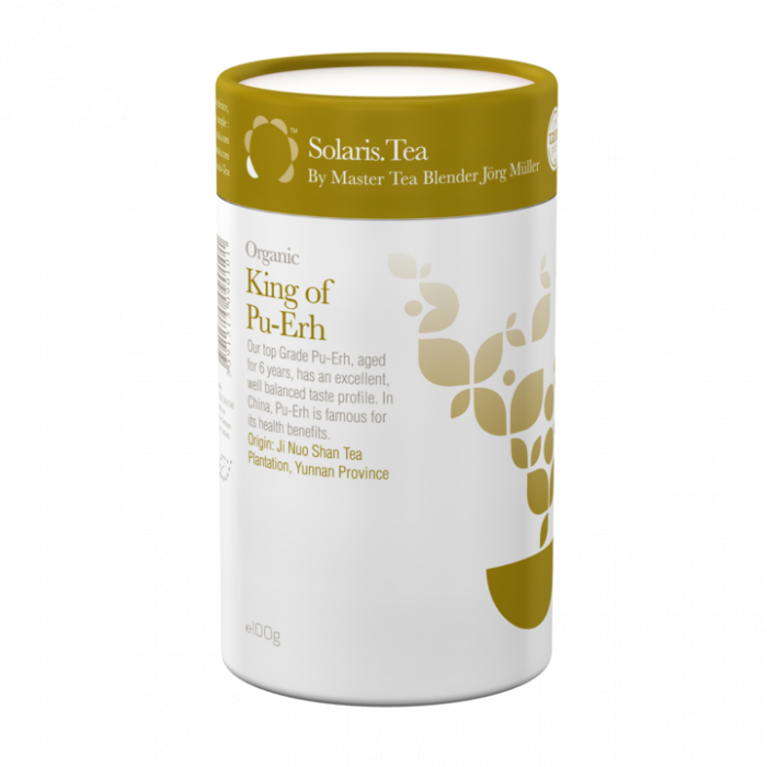 Ceai Organic King of Pu-Erh Frunze Cilindru 100gr [0]