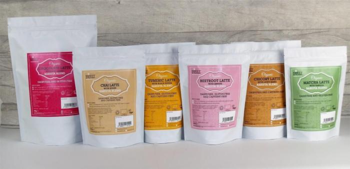 Barista Blend Matcha Latte Organic 250g 4