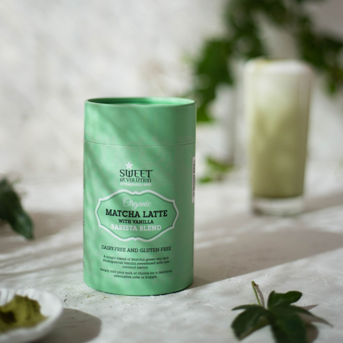 Barista Blend Matcha Latte cu Vanilie - Organic 70gr [2]
