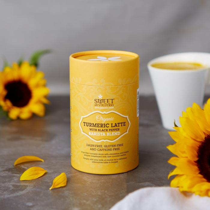 Barista Blend Turmeric Latte cu Piper Negru - Organic 100gr 2
