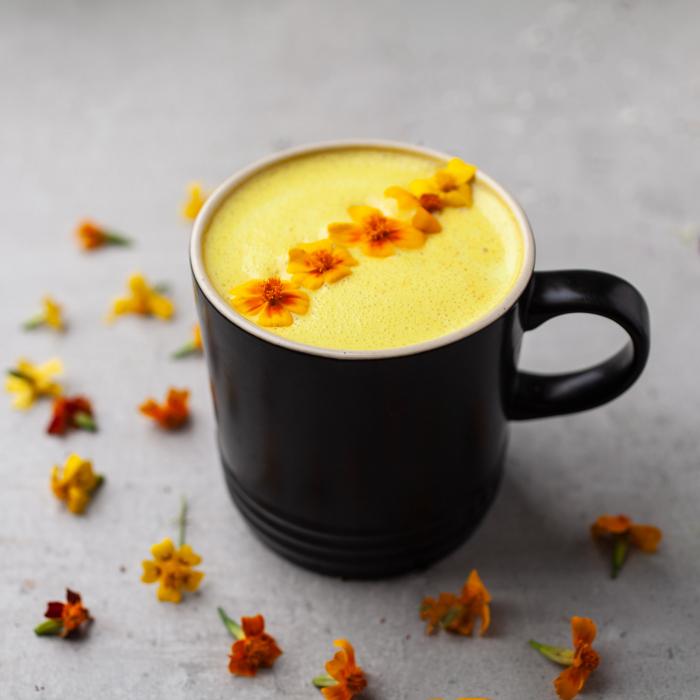 Barista Blend Turmeric Latte cu Piper Negru - Organic 100gr 3