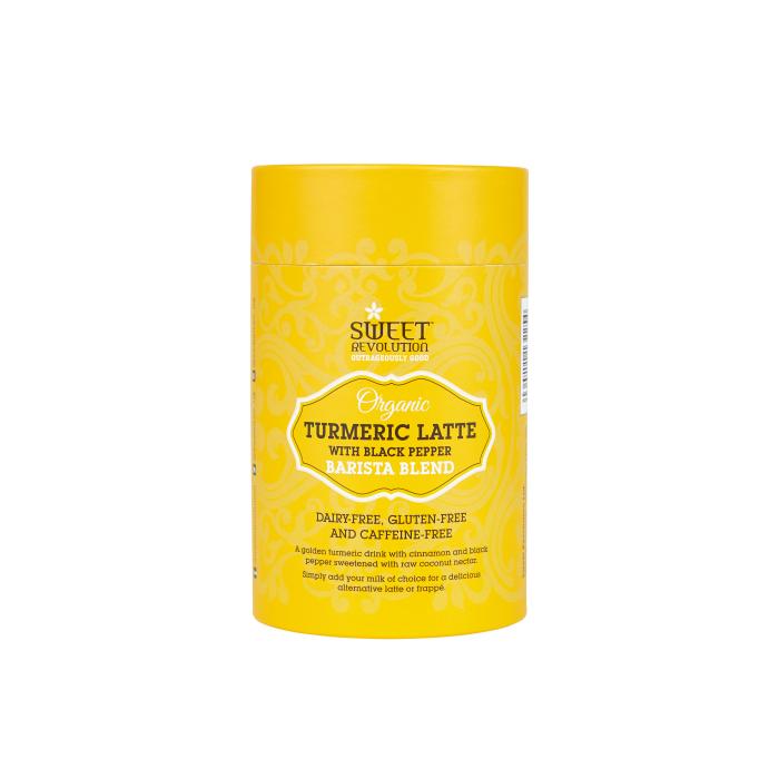 Barista Blend Turmeric Latte cu Piper Negru - Organic 100gr 0
