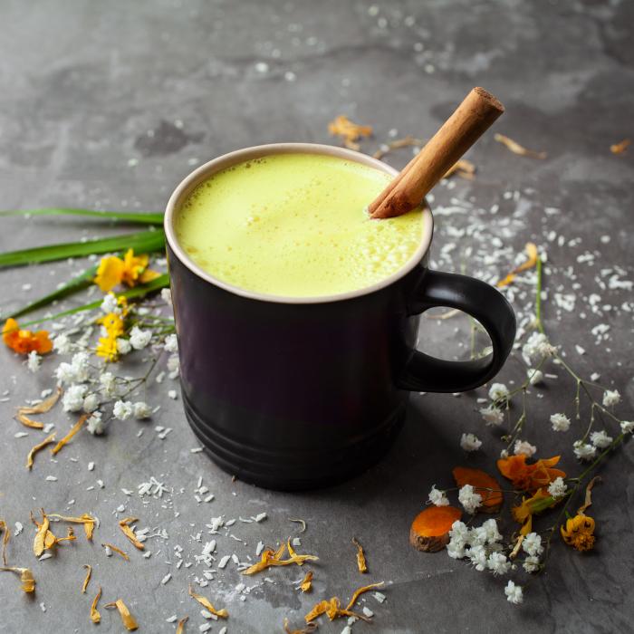 Barista Blend Turmeric Latte cu Piper Negru - Organic 100gr 4