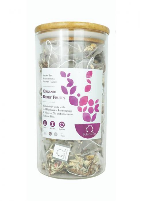 Ceai Organic Fructe de Padure 100 plicuri piramidale 0