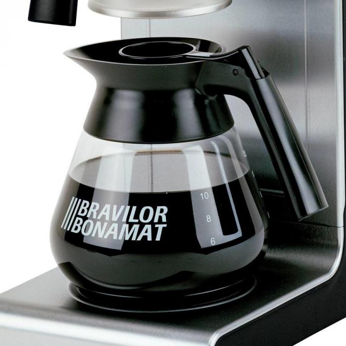 Decantor cafea sticlă termorezistentă 1.7 L 0